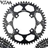 UltraZhyyne Bicycle Aluminum Chainring 104BCD 40T 42T 44T 46T 48T 50T 52T Mountain Bicycle Chainwheel Bike Crankset Bicycle Parts [ 104BCD 46T ]