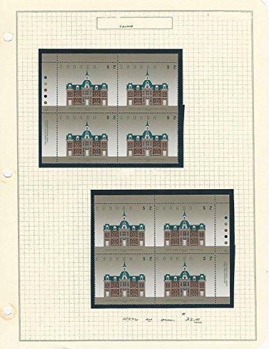 Canada, Postage Stamp, 1376 Mint NH Blocks (p)