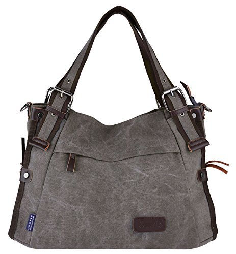 Canvas Hobo Handbags - 7