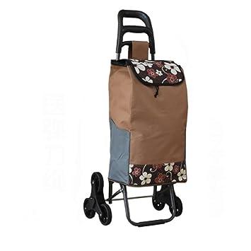 Carrito de la carretilla - cesta de compras plegable 6 ruedas - Carro de la compra , 3#: Amazon.es: Hogar