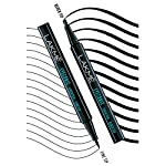 Lakmé Eyeconic Eye Liner Pen Fine Tip, Water Resistant, Long Stay, 1 ml