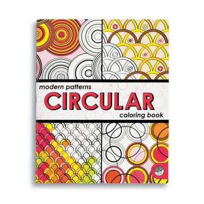 MindWare Modern Patterns Circular Coloring Book