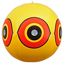 Bird Repellent Scary Eye Balloons: Stops Pest Bird Problems Fast. Reliable Visual Deterrent: Secure Your Property From Damage/Mess. Ward off Woodpecker, Pigeons, Sparrows. 100%.