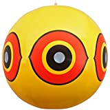 Bird Repellent Scary Eye Balloons: Stops Pest Bird Problems Fast. Reliable Visual Deterrent: Secure Your Property From Damage/Mess. Ward off Woodpecker, Pigeons, Sparrows. 100% Moneyback Guaranteed.