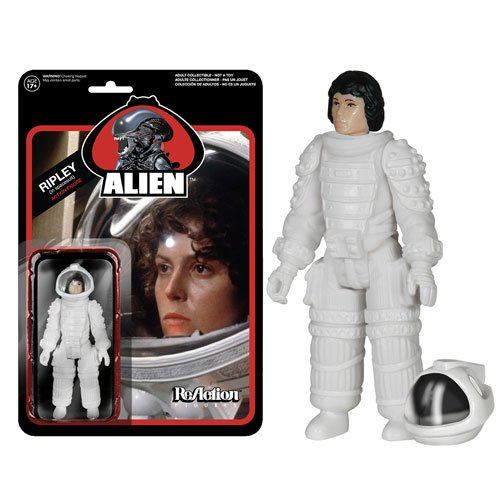 Alien Spacesuit Ripley ReAction 3 3/4-Inch Retro Action Figure