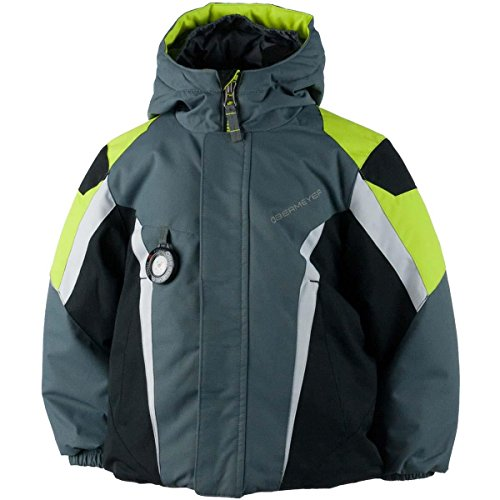 Obermeyer Boys Raptor Jacket Graphite Size 4