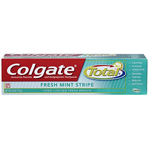 Colgate Total Toothpaste Fresh Mint Stripe 6 oz