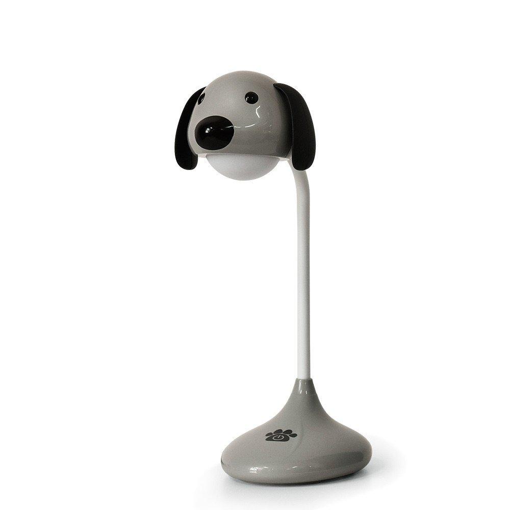 Lámpara Escritorio LED Flexo de Mesa, STRIR Luz con USB Recargable Cuidado de los Ojos Control Táctil con 2 Niveles de Brillo (Azul) [Clase de eficiencia energética A+] STRIR-Casa