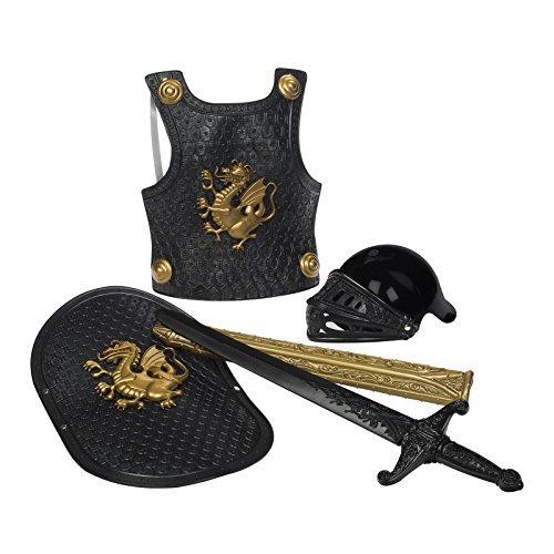 Ahorre 60% de descuento y envío rápido a todo el mundo. Juguetesmith Deluxe Knight in Shining Armor Armor Armor Set, negro by Juguetesmith  se descuenta
