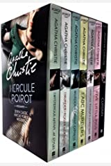 Agatha Christie Hercule Poirot Classic Mysteries 7 Books Collection Box Set Paperback