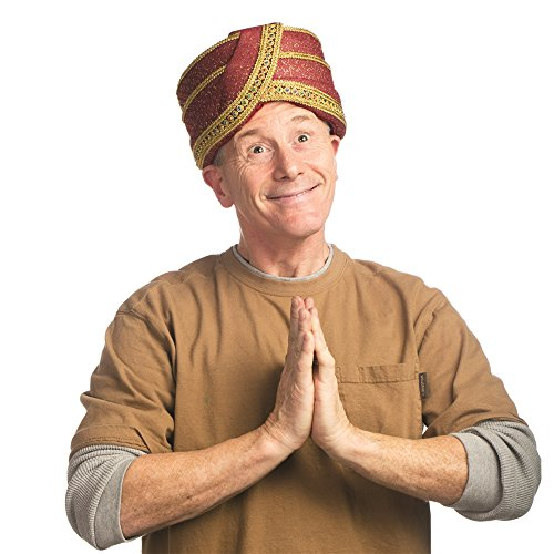 Egyptian, Guru or Swami Hat (1 Size)