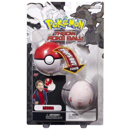 Pokemon Black White Toy Plush Series 2 Throw Poke Ball Munna 봉제인형 인형 병행수입
