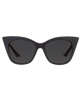39bcb40777 Quay Modern Love Sunglasses Cat Eye Plastic Frame Kitti (Black ...