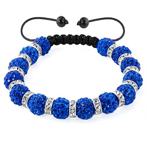CharmSStory Shamballa Synthetic Discoball Adjustable