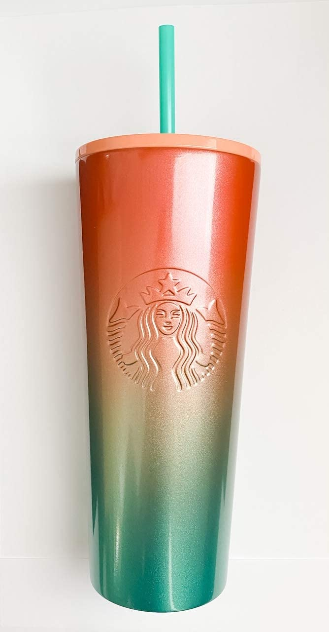 Starbucks Rainbow Cold Tumbler Stainless