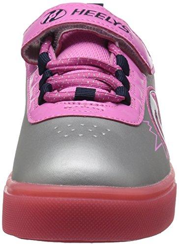 Zapatillas para ni�a, color Rosa , marca HEELYS, modelo Zapatillas Para Ni�a HEELYS PLUS LIGHTED X2 Rosa
