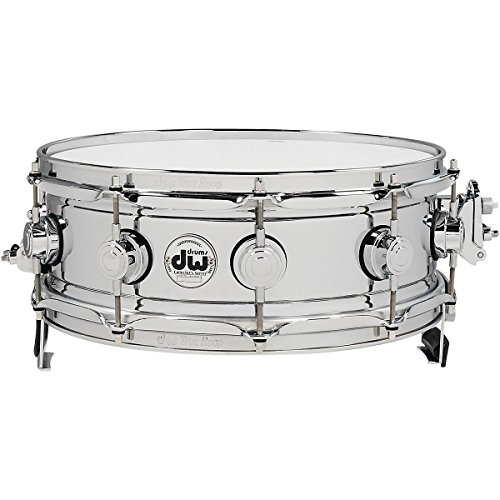 DW Collector's Series True-Sonic Snare Drum 14 x 5 in. Chrome - True Hoop Dw