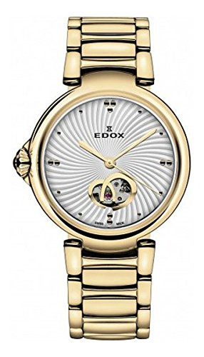 Edox Women's 85025 37RM AIR LaPassion Analog Display Swiss Automatic Rose Gold Watch
