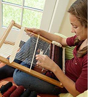 Amazon Com Beka 20 Weaving Frame Loom With Stand The Deluxe