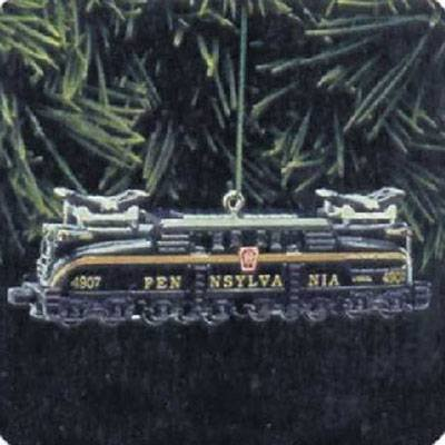 1 Pennsylvania Locomotive Gg (Pennsylvania GG-1 Locomotive Lionel Trains 3rd in Series 1998 Hallmark Ornament QX6346)