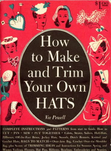 Trim Millinery (How to Make and Trim Your Own Hats)