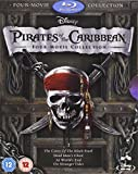 Pirates of the Caribbean 1-4 Box Set [Blu-ray] [Import]