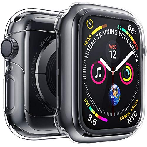 Funda Para Apple Watch Series 4 Y 5 (40mm) Transparente
