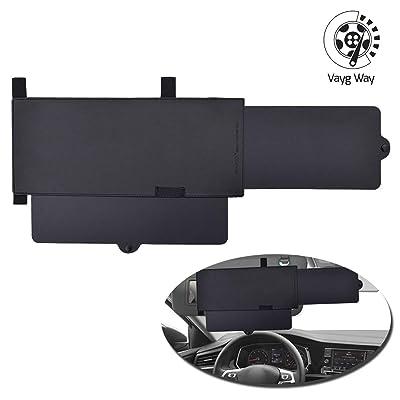VaygWay Car Visor Sunshade Extender – Extendable Car Visor Anti Glare – Windshield Auto Sun Visor Extender – Window Sun Shade Extendable Visor - Universal Car SUV Sun Shade: Automotive