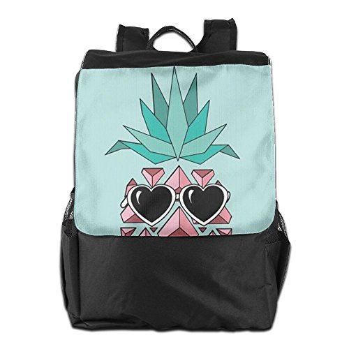 HSVCUY Adjustable with Shoulder Camping Travel and Dayback Women Cute Men for Personalized Pineapple School Sunglasses Backpack Strap Storage Outdoors rPqRxrnw8v