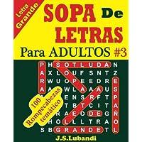 Sopa de Letras Para Adultos