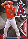 MIKE TROUT - 2016 MLB FATHEAD TRADEABLES - ANAHEIM ANGELS VINYL DECAL