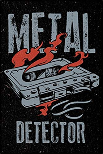 Metal Detector: Heavy Rock Music Artistic Doodle Sketch Pad For Men, Women and Kids: Amazon.es: DMS Books: Libros en idiomas extranjeros
