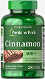 Puritans Pride Cinnamon 500 Mg Capsules, 200 Count For Sale