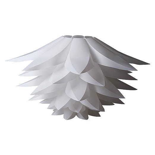 Excelvan diy lamp shades kit lotus light chandelier iq pp lampshade excelvan diy lamp shades kit lotus light chandelier iq pp lampshade pendant hanging suspension lightshade for aloadofball Choice Image