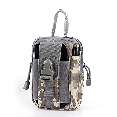 Compact Multi-Purpose Tactical MOLLE EDC Utility Gadget Pouch Tools Waist Bag Pack