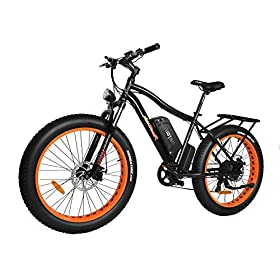7f5d8239183 Addmotor MOTAN Electric Bikes Fat Tire Electric Bicycles Snow Beach  Mountain 750W Ebikes for Adults with Suspension Fork Mountain E-Bikes  Mountain Electric ...