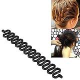 Insten Fashion Hair Design Styling Braid Tool Hair Maker, Black