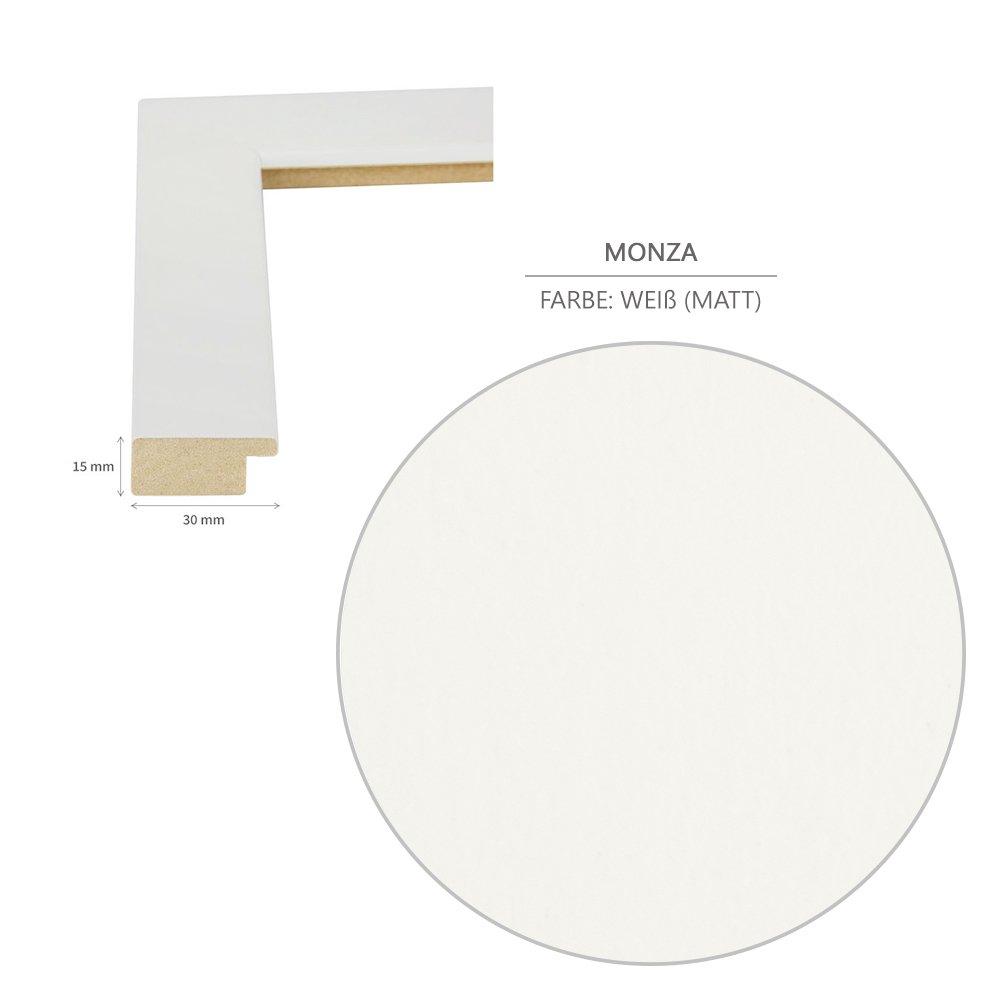 mat Cadre photo MONZA 33 x 98 cm Blanc