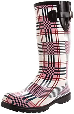 Nomad Women's Puddles Boots,Pink,5 M