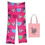 My Little Pony Big Girls' Leggings & Tote - 2 Piece Gift Set (Medium/Large)