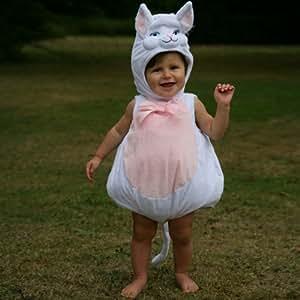 Baby - Disfraz de gato para bebé niña, talla 0 - 6 meses