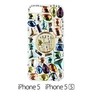 OnlineBestDigital - Handmade Diamond Rhinestone Hard Back Case for Apple iPhone 5S / Apple iPhone 5 - Ho