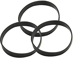 Mumaxun 3pcs Replacement 3031120 Vacuum Cleaner Belt for Bissell Styles 7 9 10 12 14 16 - Model 9595 9595A 1240 6596-X 20Q9 3576 1240 6584 3522-1 82H1 and More