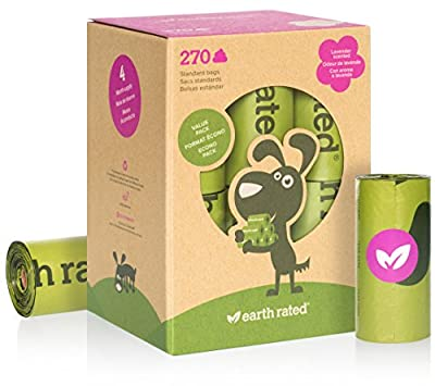 Earth Rated® Poop Bags Dog Waste Bags, Refill Rolls from Earth Rated