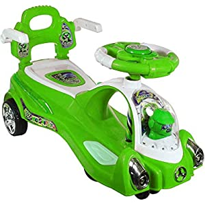 Adelee Plastic Space Swing Car...