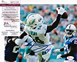 JARVIS LANDRY #14 signed MIAMI DOLPHINS 1 Hand Catch 8x10 Photo + JSA Witness COA