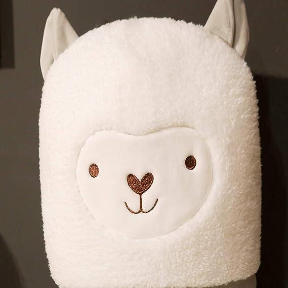 Amazon.com: Nooer - Cojín de felpa suave y bonito con diseño ...
