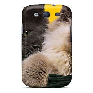 Protection Case For Galaxy S3 / Case Cover For Galaxy(cats In Basket)