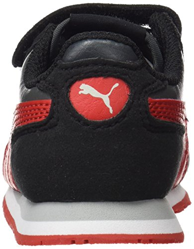 Basses Sneakers Scarlet Racer Noir Sl Mixte dark Enfant flame Shadow Puma V Inf Cabana Xq5aY