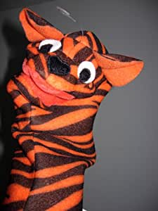 Amazon.com: Baby Einstein Tiger Bath Hand Puppet - Retired